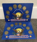 SHELL 1992 PRESIDENTIAL COLLECTOR COIN SETS