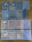 ANTIQUE NICKELS AND PENNY COIN COLLECTION SETS