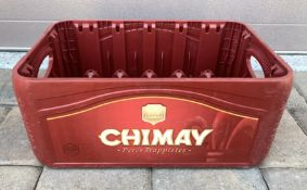 CHIMAY PERES TRAPPISTES DRINK BEER CRATE PLASTIC