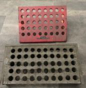 Slotted Wood Collet Tool Holders (2)