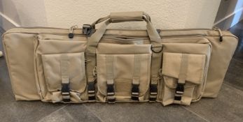 RIFLE / AUTOMATIC WEAPON STORAGE CARRYING CASE