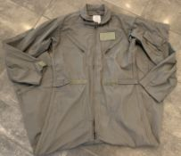 MILITARY FIGHTER PILOT AIRMAN COVERALLS GREEN SIZE 44 LONG