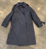 MILITARY DEFENSE ISSUED ALL WEATHER RAIN STORM COAT SIZE 46 L