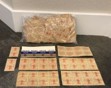 LOT OF AUTHENTIC COLLECTABLE VINTAGE BROWN & WILLIAMSON TOBACCO COUPONS