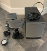 BOSE COMPANION 5 MULTIMEDIA SPEAKER SYSTEM COMPLETE    SHOW SAMPLE IN NEW CONDITION WITH ALL WIRES