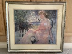 "Tim Benson 'Eleanor 1907' Reproduction 34x30"" Artwork"