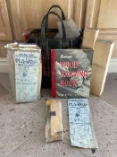 Vintage Wood Carving Book, Pinewood derby Kits Etc Etc