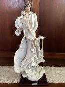 G Armani Florence 1987 Wedding Couple Porcelain Sculpture