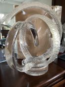 Vintage Van Teal Hollywood Regency FreeForm Lucite Sculpture