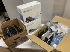 Encompass Print Cartridges C9720A (x2), NEC Scanners, Laptop Docking Units Etc