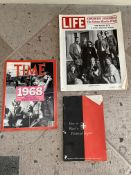 Vintage Magazines: Life, Time, Merrill Lynch
