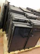 2 Pallets of Large Screen Monitors/TVs - 21 TVs, some with side speakers