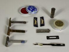 Vintage Razors, Antique Cosmetics
