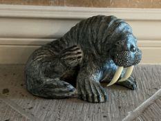 WE - A Wolf Original Walrus sculpture