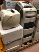 Pallet of Printers, Fax Machines, Scanners, some in box