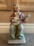 Waco Melody in Motion Clown Music Box