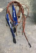 8 WATER SPRAY HOSE WITH NOZELS ATTACHED, LAUNDRY DRY CLEANING USE