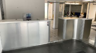 FRONT RECEPTION COUNTERS