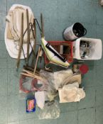 TOOLING , HOSSES, BRAND NEW PADDING, COVERS + OTHER MISC DRY CLEANING ITEMS