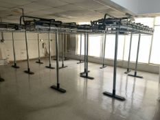 SARATOGA DRY CLEANING GARMENT CONVEYER STORAGE SYSTEM $5000 SYSTEM