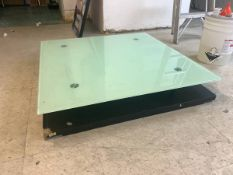 39.5 X 39.5 REPLACEMENT GLASS TABLE TOP SQUARE FROSTED