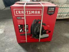 NEW - Craftsman CMXGAAH46BT 46cc 2-Cycle Gas Backpack Leaf Blower