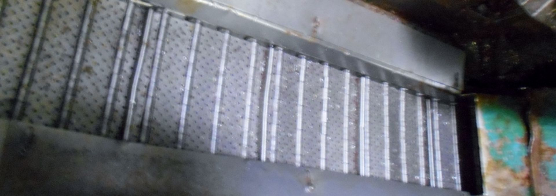 Lot 12 - Turbo 6287-8002 Incline Chip Conveyor Serial #306595