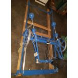 Terrco Wood Carving Machine, Model # Kstar, Type #5060, Two spindle table top mount, manual