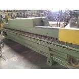 Homag SE7400 Edgebander with attached conveyor, Control panel, Infeed banding system with table,