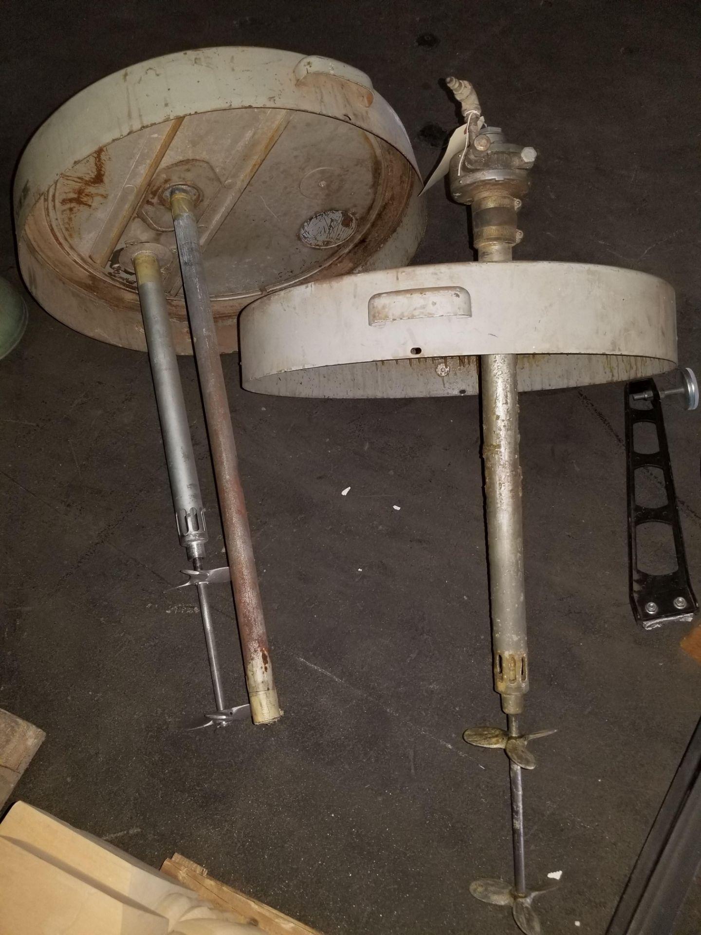 Lot 45 - 2 - Graco 55 Gallon Paint Mixer, Model # 207-373