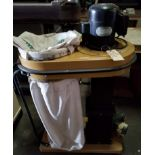 Powermatic Dust Collector Model # 073, 1.5 hp 110V, Top & Bottom Bag, (2) 4-Dust Chutes, Casters.