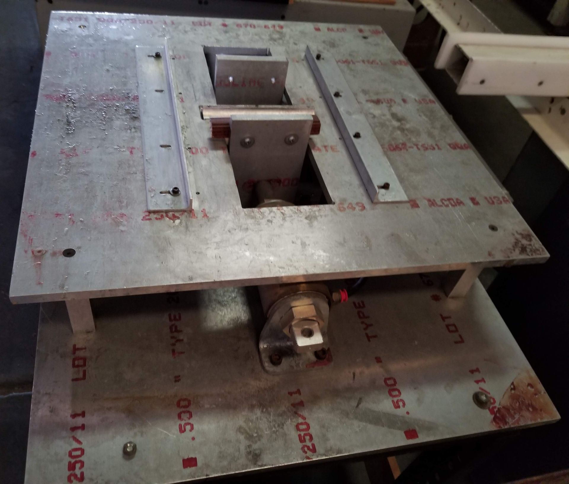 Pnuematic Press w/ Aluminum Table - Image 2 of 5