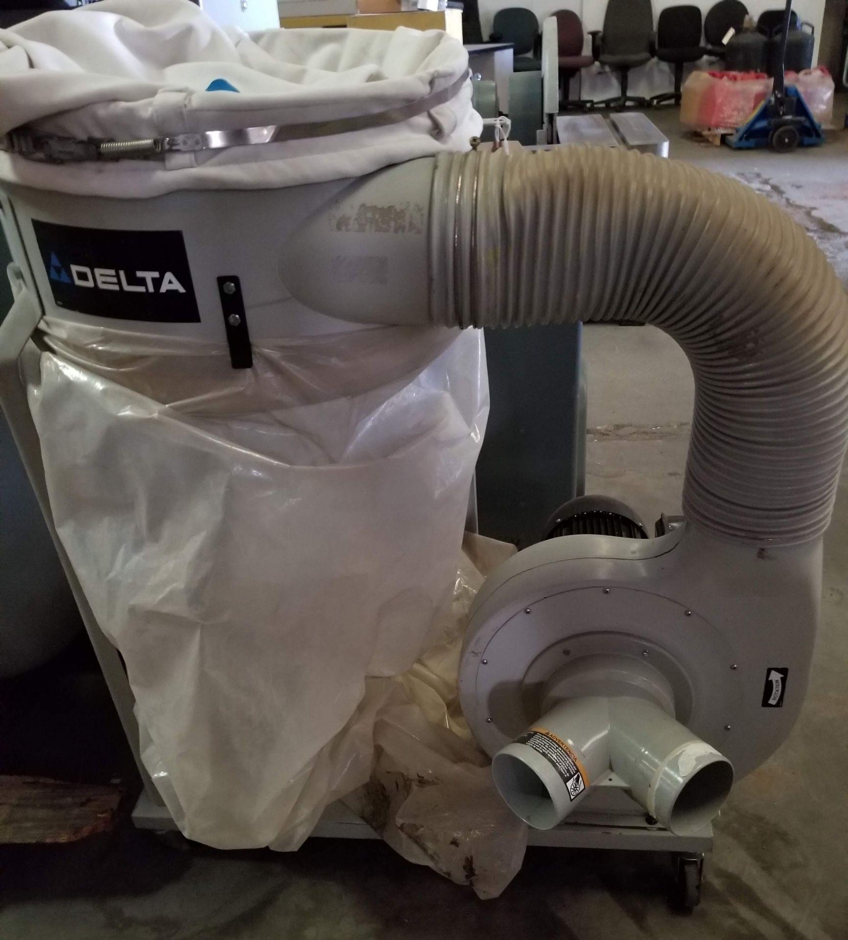 Lot 20 - Delta Dust Collector, 1.5hp 110V, Model # 50-850