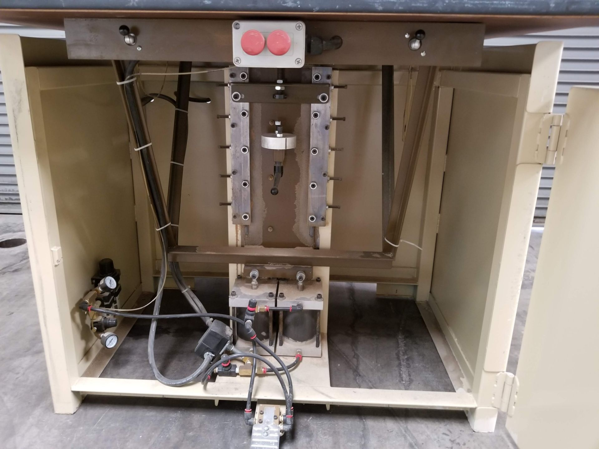 Lot 8 - Ritter #R46 46 Spindle 32mm Line Boring Machine, 2-3HP 230V 3ph motors, 23 gear driven vertical