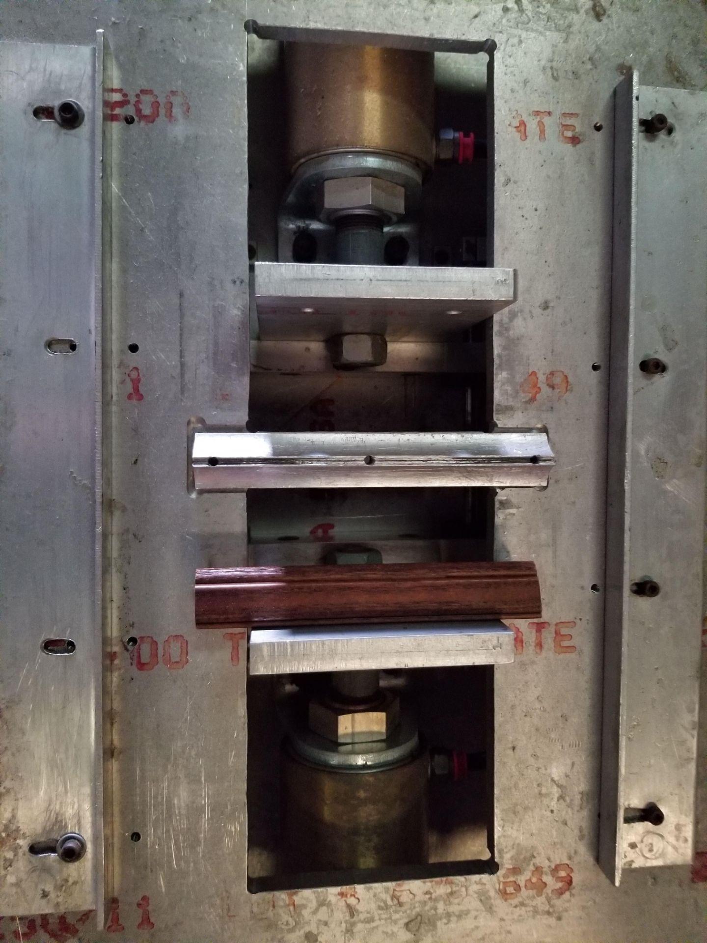 Lot 28 - Pnuematic Press w/ Aluminum Table