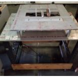 Pnuematic Press w/ Aluminum Table