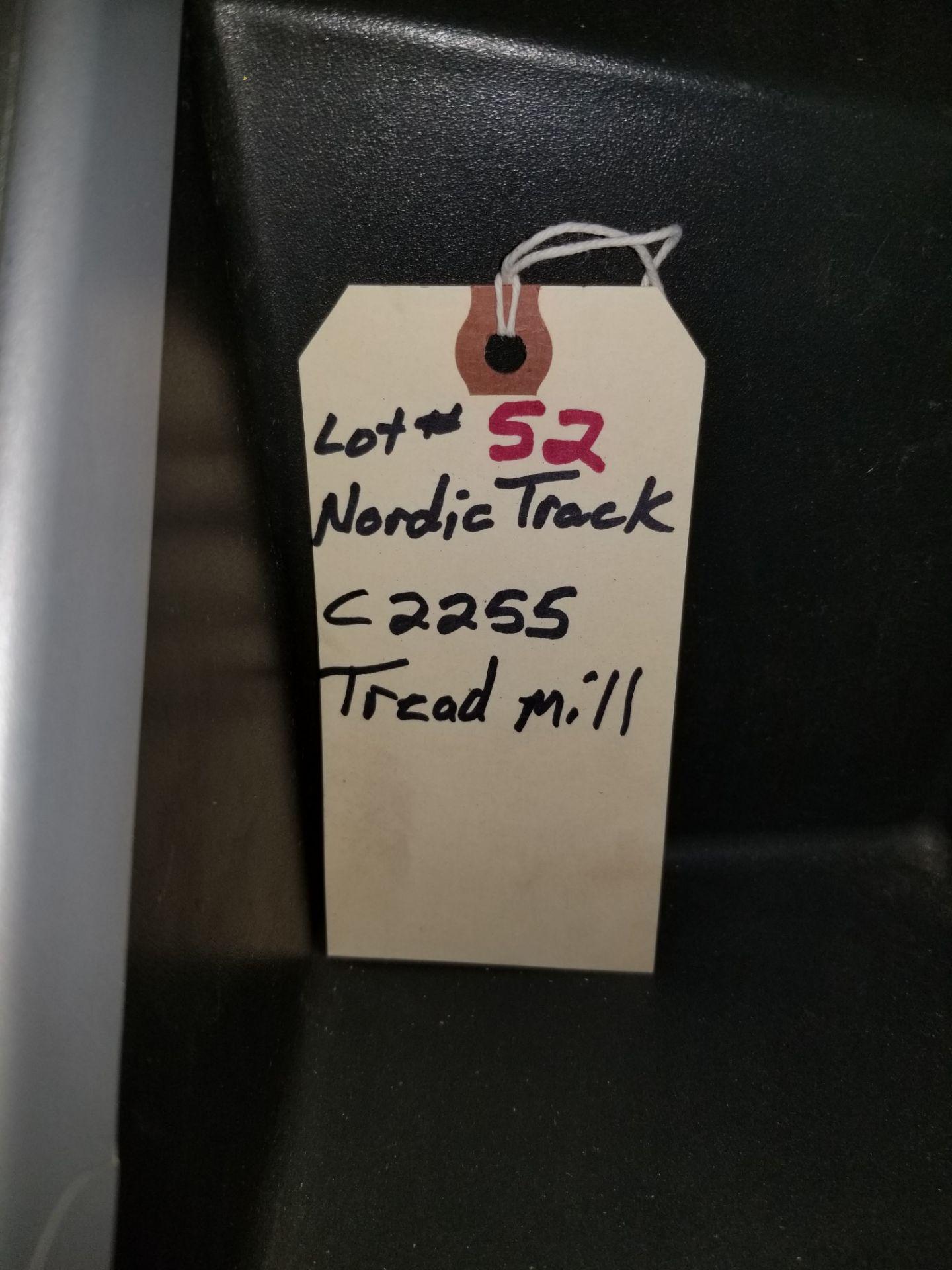 Lot 52 - NordicTrack Tredmill C2255