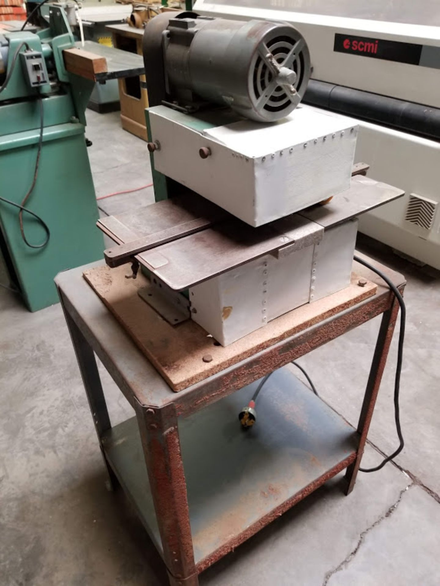Lot 9 - Evans Rotork Laminate Slitter, 1 phase with Stand