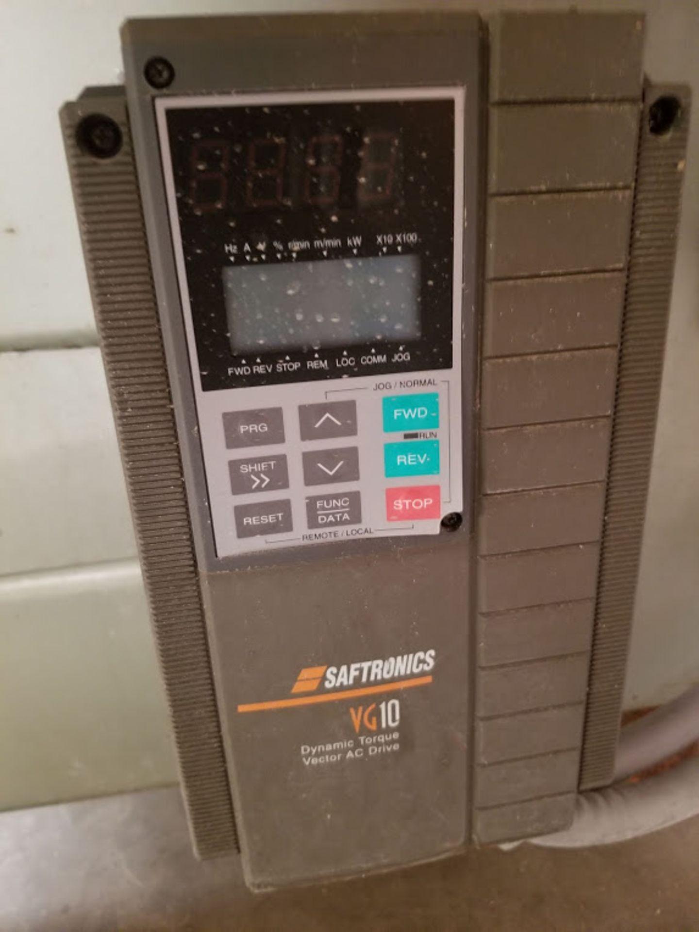 Lot 2 - Profilematic Multi-Head Linear V-Groover, Countertop Auto Edge Profile Machine, 3 - Baldor 10 Hp
