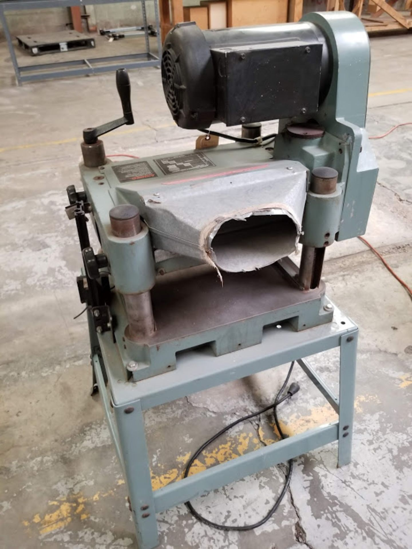 "Lot 20 - Delta 13"" Planer, Model #22-660, 2 HP 220 volt 1 phase"