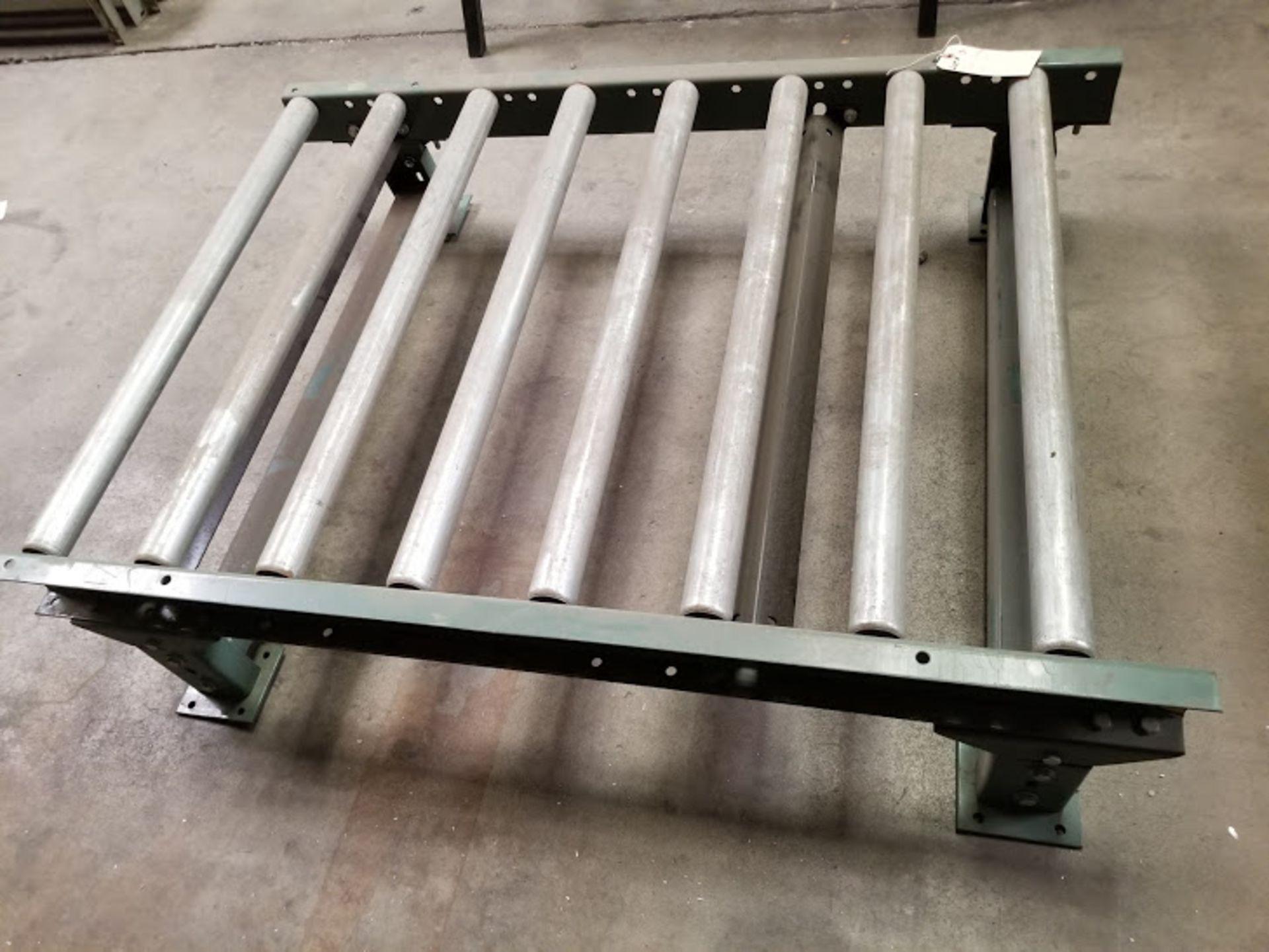 """Lot 13 - Roller Conveyor, 36"""" x 48"""""""