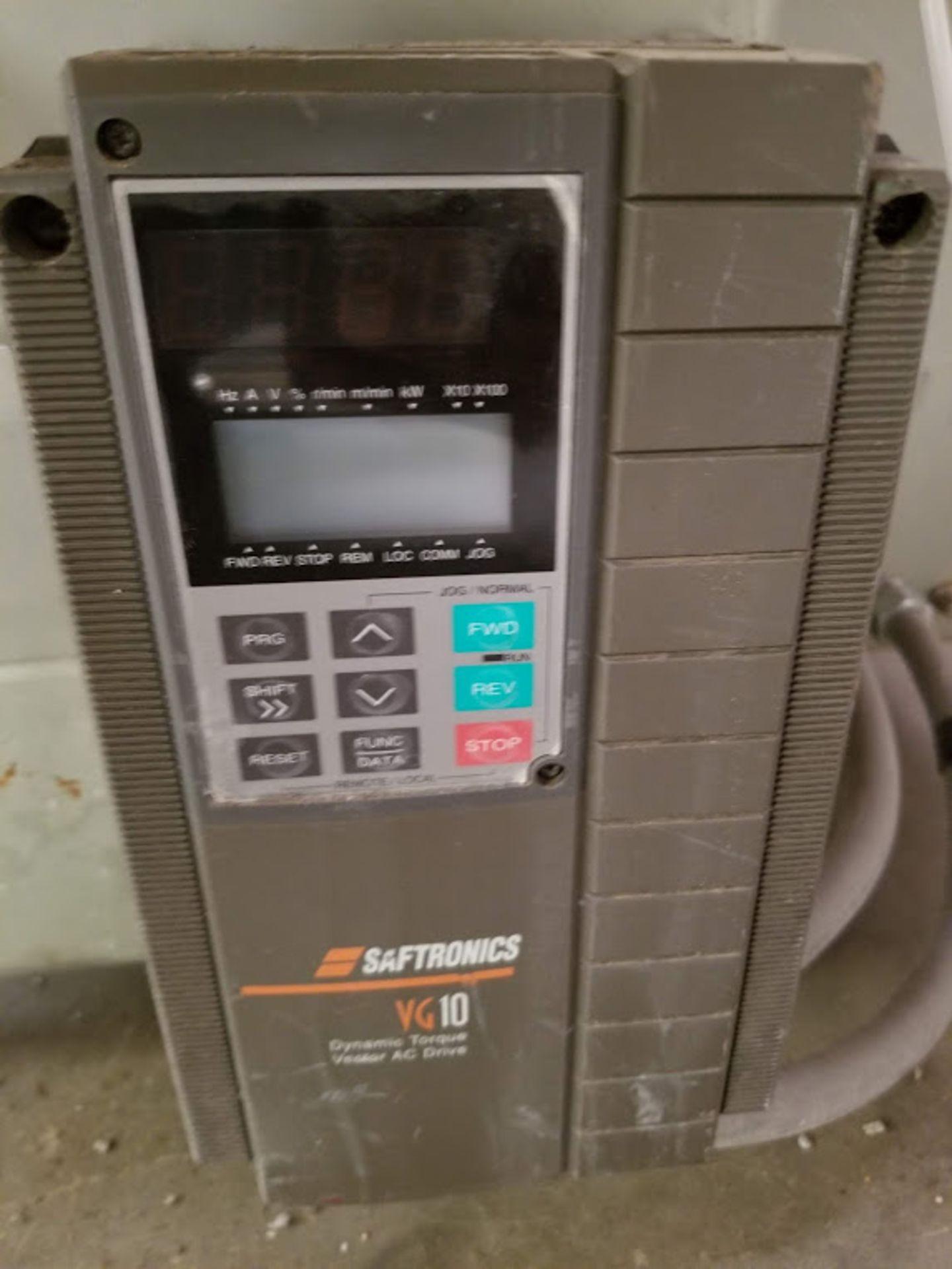 Lot 3 - Profilematic Multi-Head Linear V-Groover, Countertop Auto Edge Profile Machine, 3 - Baldor 10 Hp