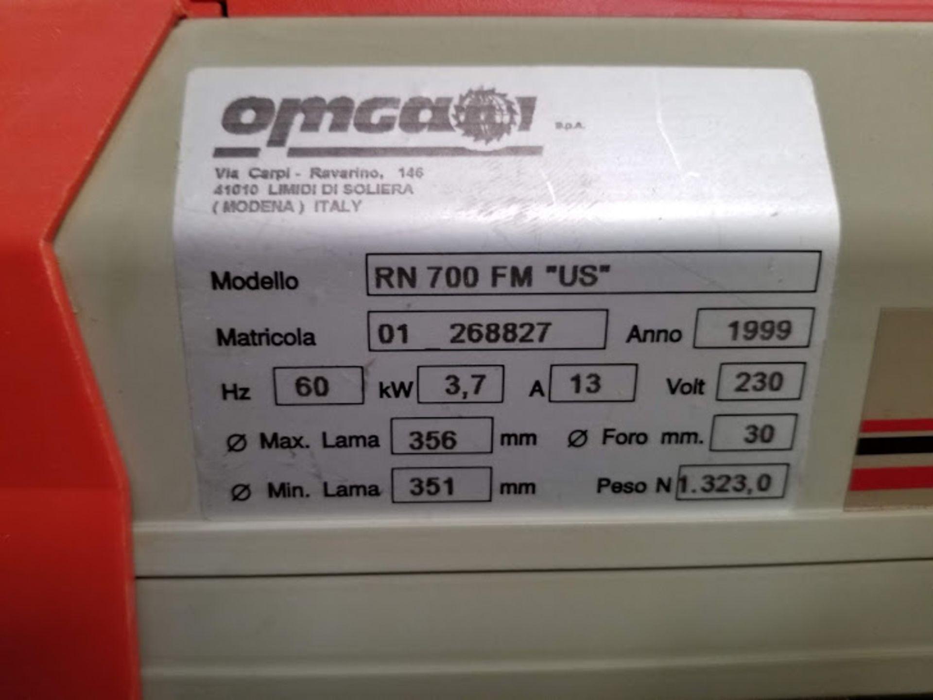 "Lot 12 - Omga 14"" Radial Arm Saw # RN700, 230 volt 3phase"