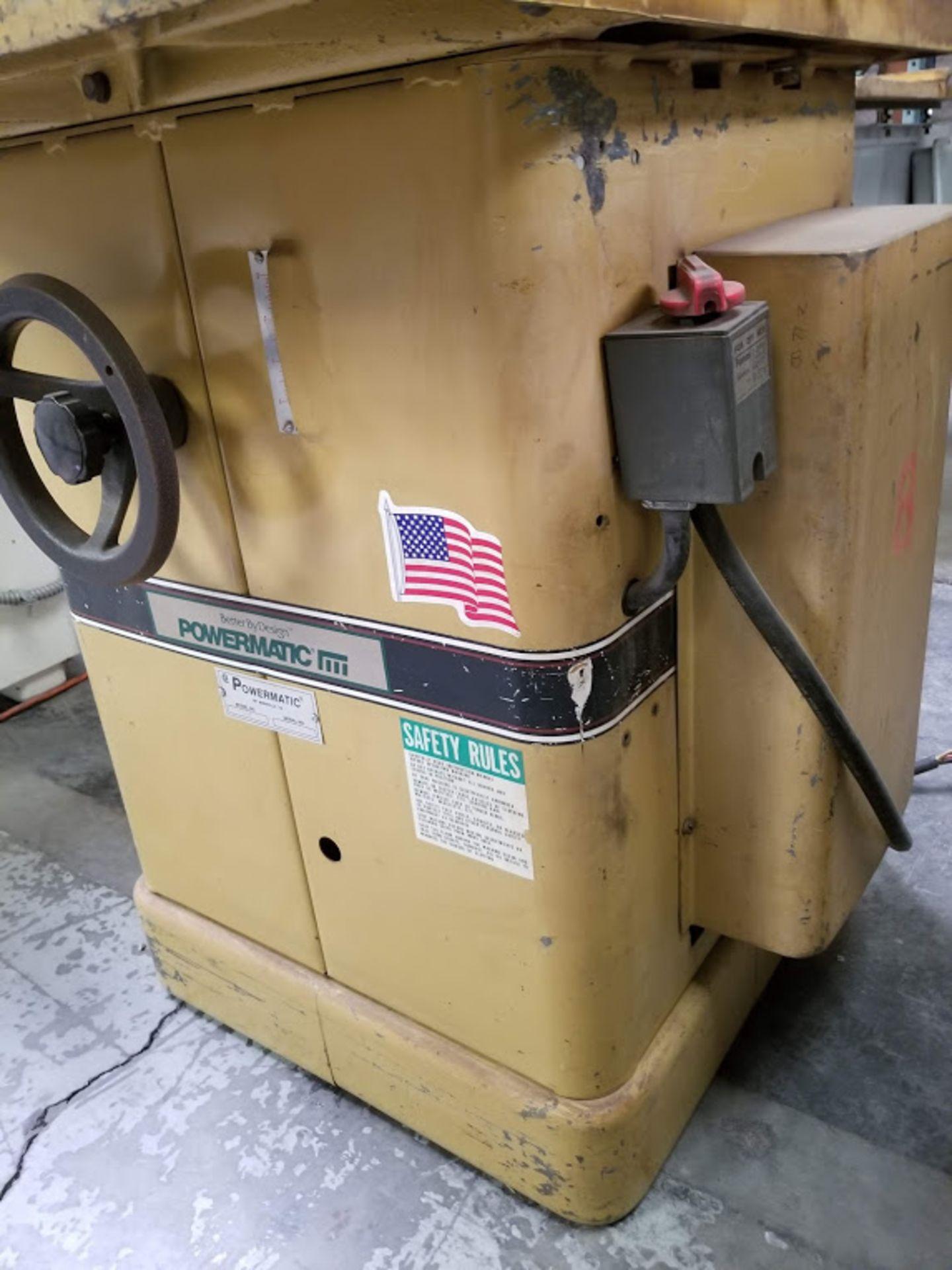 "Lot 18 - Powermatic #27 Wood Shaper, 1"" spindle, Baldor 5 HP 230 volt 3 phase Motor"
