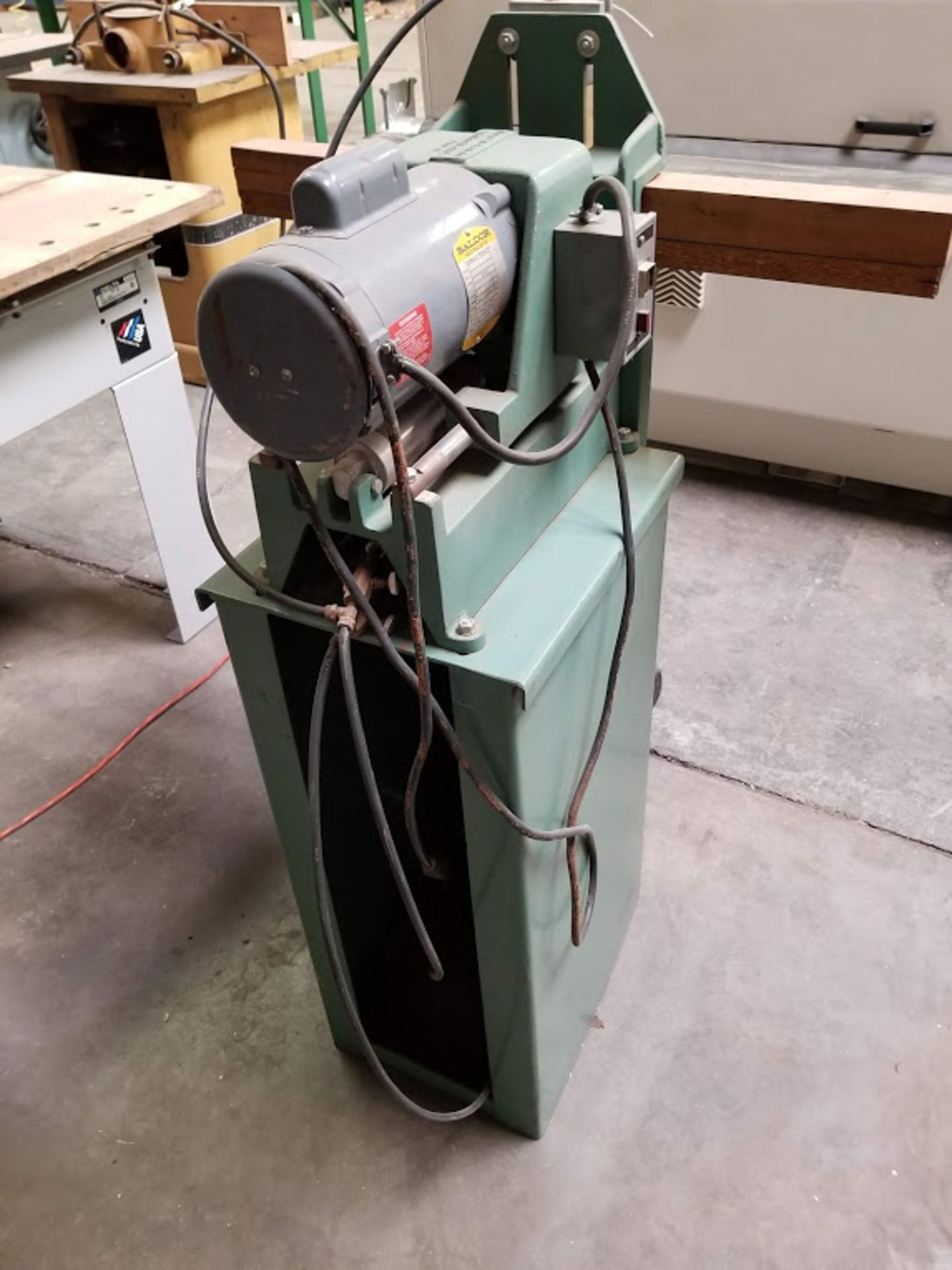 Lot 10 - Ritter 1 Spindle Boring Machine, Pneumatic Foot Pedal, Baldor 3/4 HP 115/230 volt 1 phase