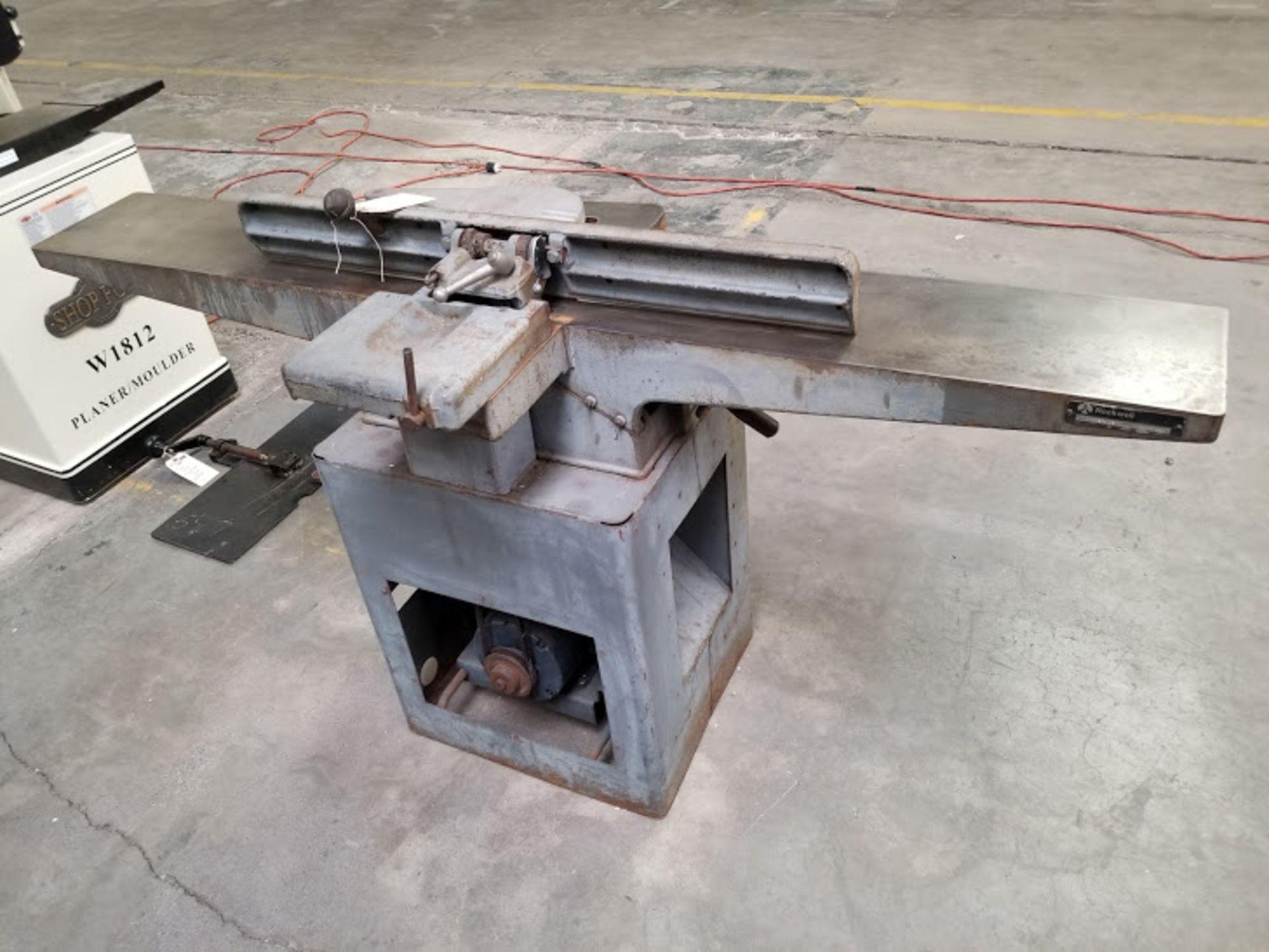 "Lot 23 - Rockwell 8"" Jointer, Model #37-315, 1.5 HP 115/230 volt 1 phase"