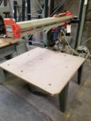 "Omga 14"" Radial Arm Saw, # RN700, 230 Volts 3phase Motor"