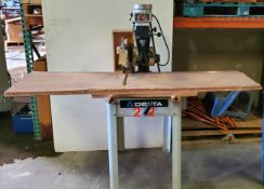 "Delta 12"" Radial Arm Saw, 2HP 230 Volts 3Phase Motor, Model #33-892"