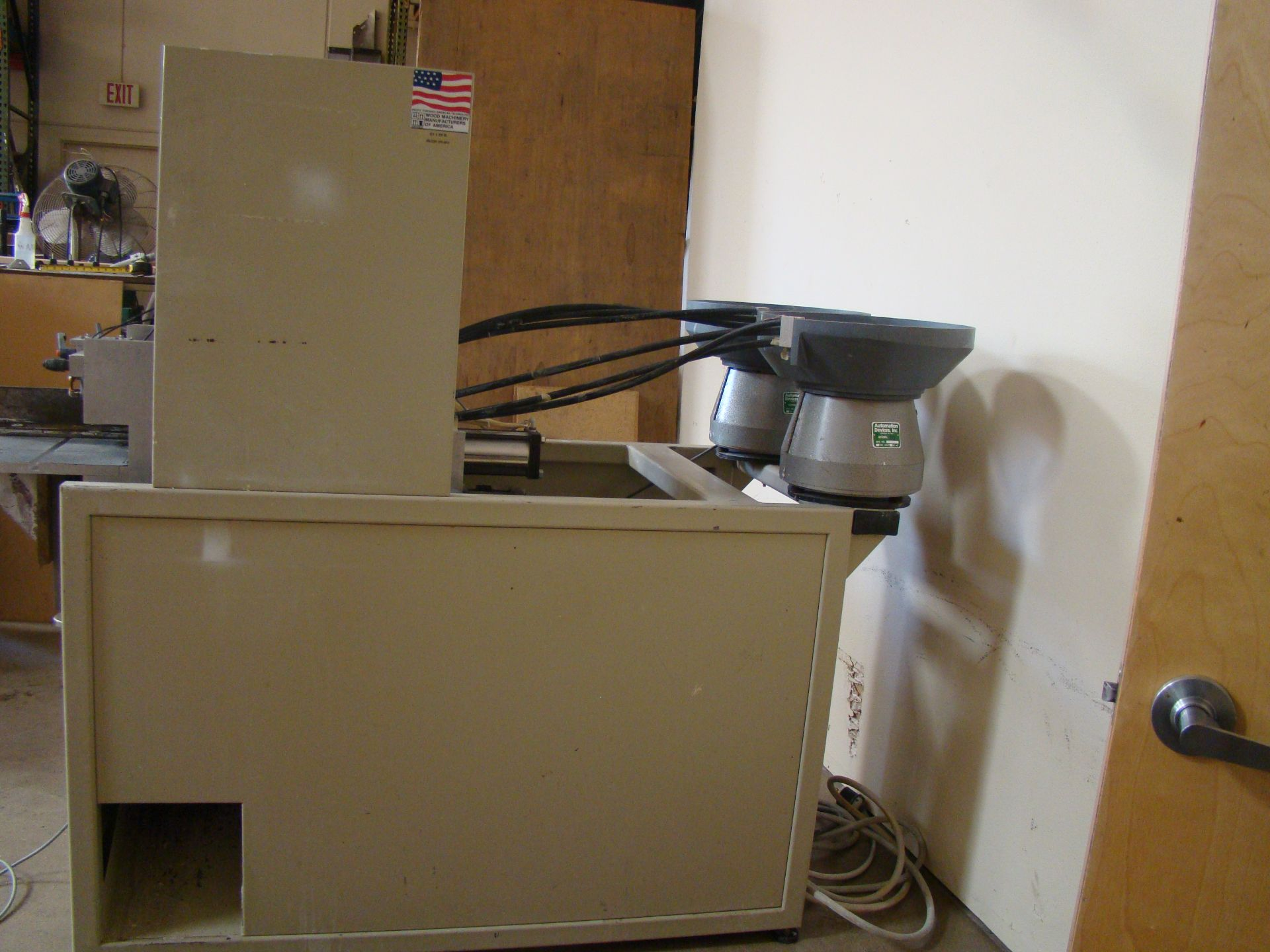 Lot 20 - Accu-Systems 366 Automatic Glue+Dowel Inserter 208/230 Volts 3 Phase Motor