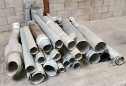 Misc Steel Piping, 4inch,5inch,6inch, & 8inch diameter